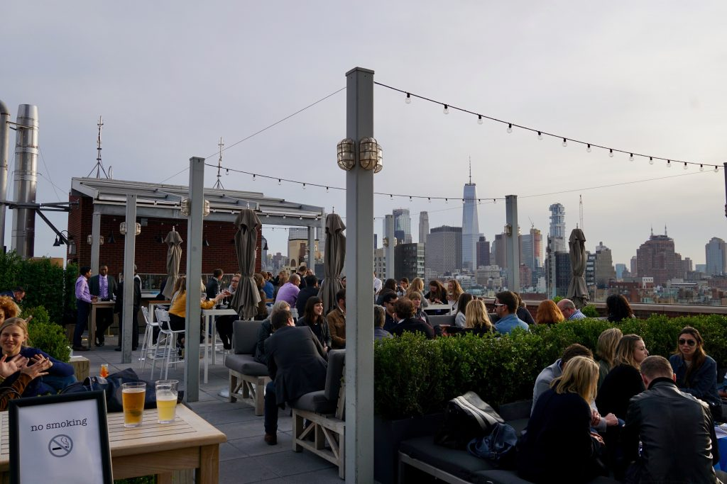 Rooftop hos Hotel Indigo Lower East Side