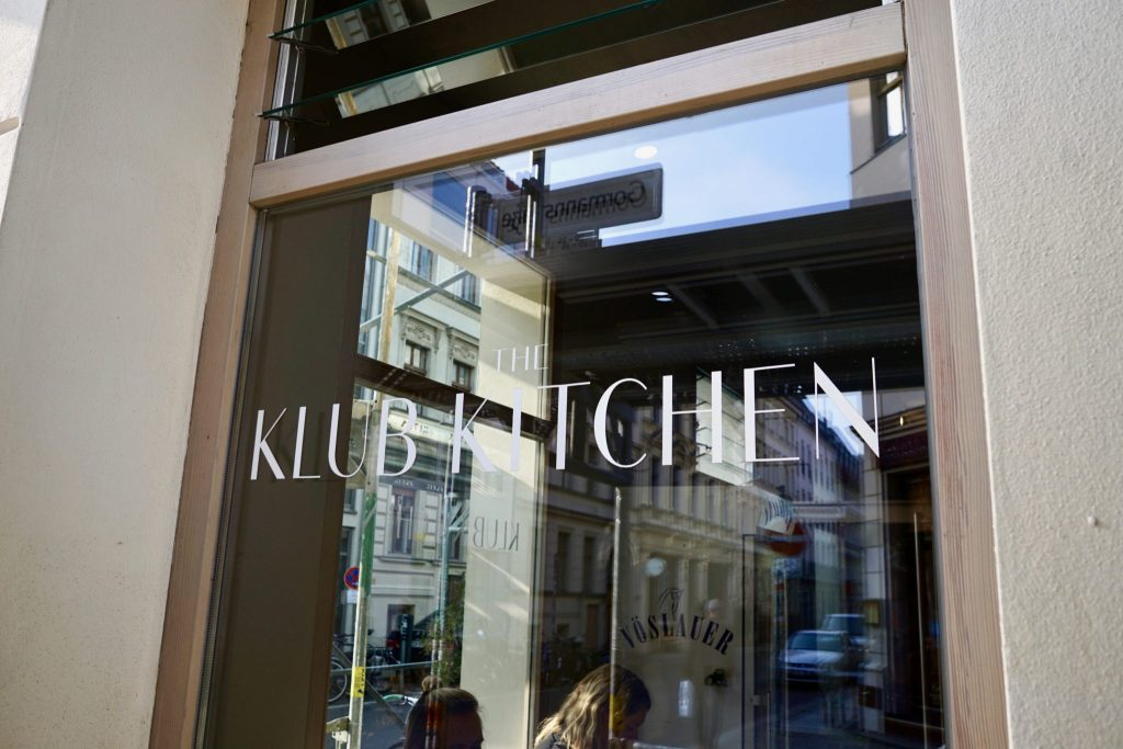 Logo hos The Klub Kitchen