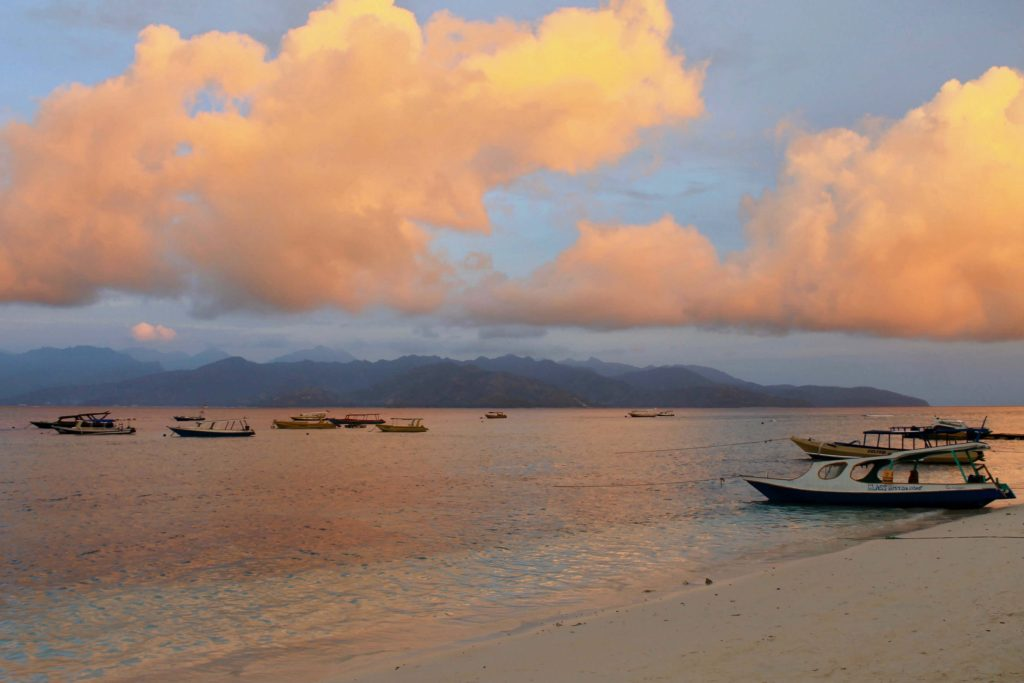 Solnedgang over Gili Trawangan – Anbefaling af Johanne Schack